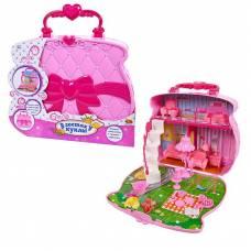 В гостях у куклы. Домик-сумка с куклой и аксессуарами ABtoys