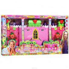 Раскладной дом для куклы, 29 дет.
