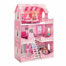 Кукольный домик «Розет Шери» (с мебелью) Paremo
