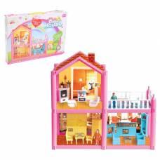 Дом для куклы, двухэтажный, с аксессуарами Sima-Land