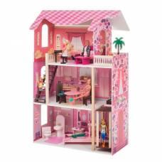 Кукольный домик «Монте-Роза», с мебелью Paremo