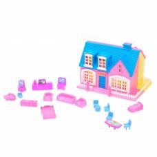 Дом для кукол «Создай уют» с аксессуарами, в пакете Sima-Land