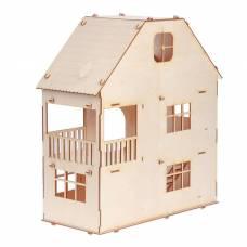 Домик для кукол, 3 этажа с мансардой Марич