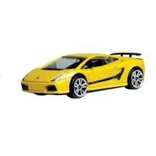 Коллекционная машинка Lamborghini Gallardo Superleggera, желтая MotorMax