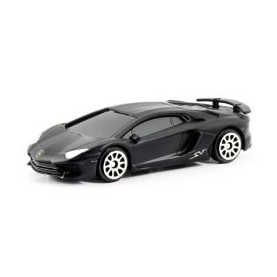 Машина металлическая RMZ City 1:64 Lamborghini Aventador LP 750-4 Superveloce (цвет черный матовый) RMZ City