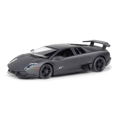 Коллекционная машинка Lamborghini Murcielago LP670-4 SV, черная, 1:32 RMZ City