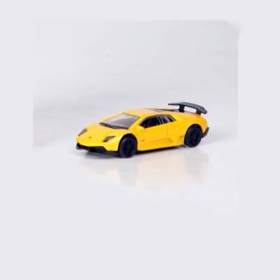 Коллекционная машинка RMZ City - Lamborghini Murcielago, 1:64, желтая RMZ City