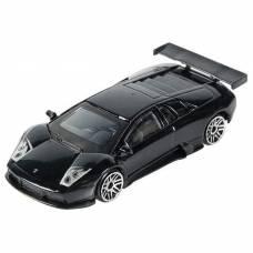 Коллекционная модель Lamborghini Murcielago R-GT, черная, 1:64 Технопарк