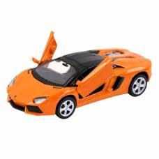 Коллекционная модель Lamborghini Aventador LP700-4 Roadster, оранжевая, 1:43 Пламенный мотор