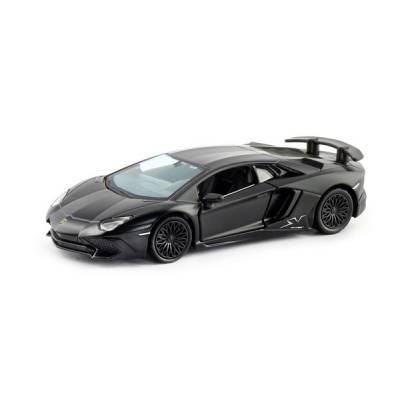 Машина металлическая RMZ City 1:32 Lamborghini Aventador LP 750-4 Superveloce (цвет черный матовый) RMZ City