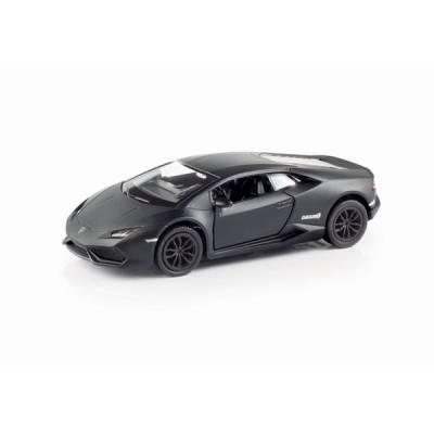 Масштабная модель автомобиля Lamborghini Huracan, черная, 1:32 RMZ City