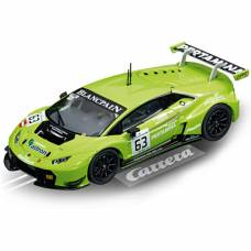 Масштабная модель автомобиля Lamborghini Huracan GT3 No.63, зеленая, 1:32  Carrera