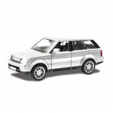 Инерционная коллекционная машинка Range Rover Sport, серебристая, 1:36 RMZ City