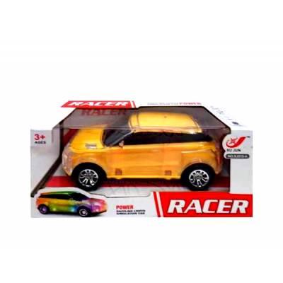 Желтая электромеханическая машина Racer (свет)