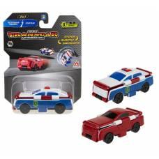 Transcar 2в1: Патрульная машина – Спорткар, 8 см 1TOY