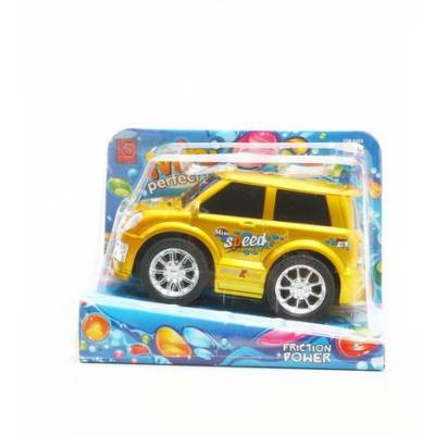 Фрикционная машина Speed, желтая Shenzhen Toys