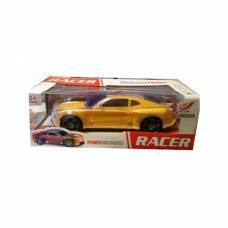 Электромеханическая машина Racer (свет), желтая