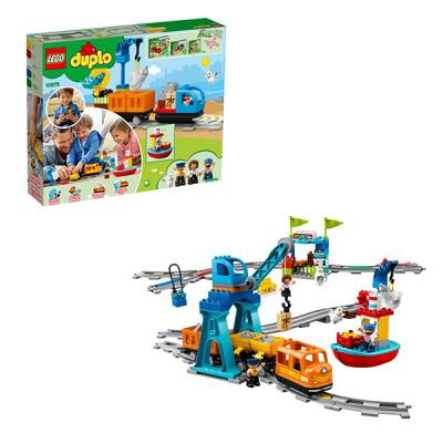 Конструктор LEGO Duplo Town - Грузовой поезд LEGO Duplo