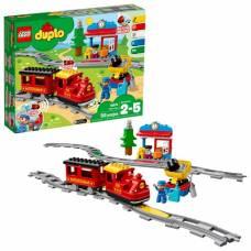 Конструктор LEGO Duplo Town - Поезд на паровой тяге LEGO Duplo