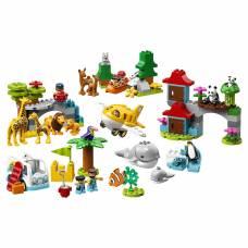 Конструктор LEGO Duplo - Животные мира LEGO Duplo