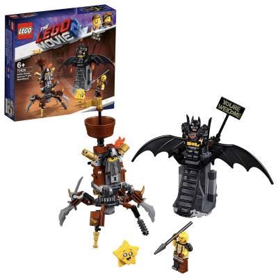 Конструктор LEGO Movie 2 - Боевой Бэтмен и Железная борода LEGO Movie