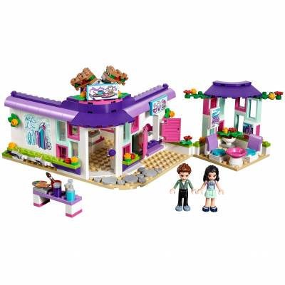 Конструктор LEGO Friends - Арт-кафе Эммы LEGO Friends