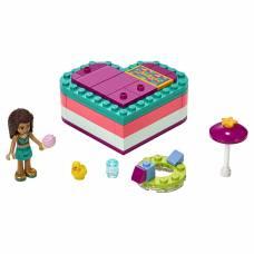 Конструктор LEGO Friends - Летняя шкатулка-сердечко для Андреа LEGO Friends
