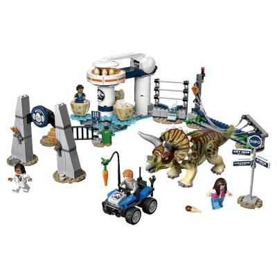 Конструктор LEGO Jurassic World - Нападение трицератопса LEGO Jurassic World