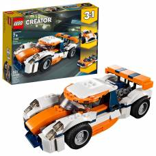 Конструктор LEGO Creator 3 в 1 - Гоночный автомобиль, оранжевый  LEGO Creator