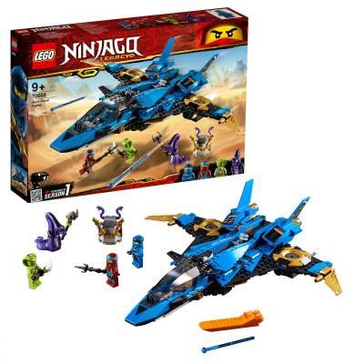 Конструктор LEGO Ninjago - Штормовой истребитель Джея LEGO Ninjago