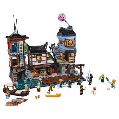 Конструктор LEGO Ninjago Movie - Порт Ниндзяго Сити LEGO Ninjago