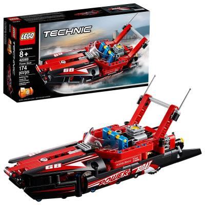 Конструктор 2 в 1 LEGO Technic - Моторная лодка LEGO Technic