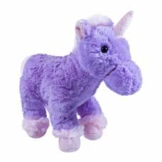 Мягкая игрушка Teddykompaniet единорог, фиолетовый, 30 см