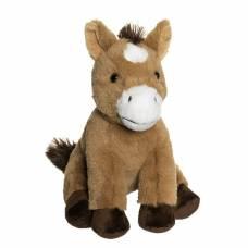 Мягкая игрушка Teddykompaniet Сидящая лошадка, 22 см