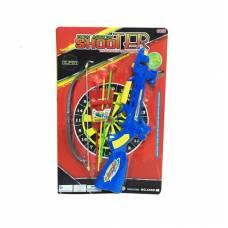 Игровой набор Shooter - Арбалет и лук с присосками