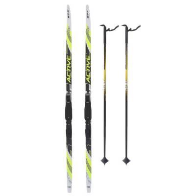 Комплект лыжный БРЕНД ЦСТ (150/110 (+/-5 см), крепление: SNS) Бренд ЦСТ
