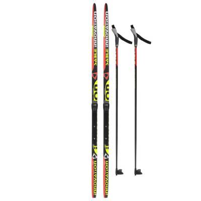 Комплект лыжный БРЕНД ЦСТ 160/120 (+/-5 см), крепление NNN, цвет Бренд ЦСТ
