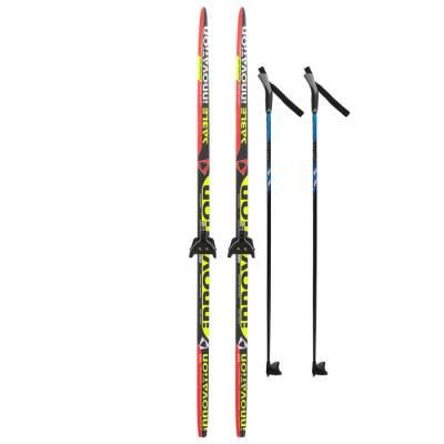 Комплект лыжный БРЕНД ЦСТ 160/120 (+/-5 см), крепление 0075 мм, цвет Бренд ЦСТ