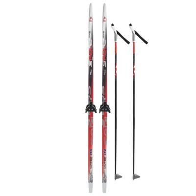 Комплект лыжный БРЕНД ЦСТ 170/130 (+/-5 см), крепление 0075 мм, цвет Бренд ЦСТ