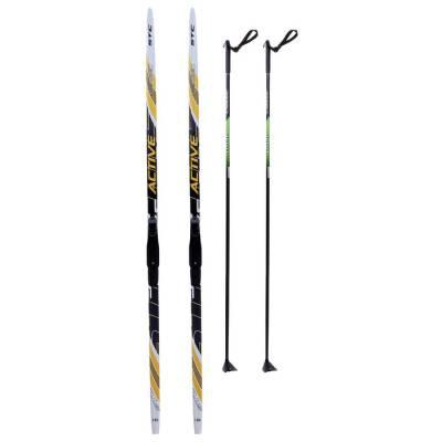 Комплект лыжный БРЕНД ЦСТ (Step, 185/145 (+/-5 см), крепление: SNS) цвета Бренд ЦСТ