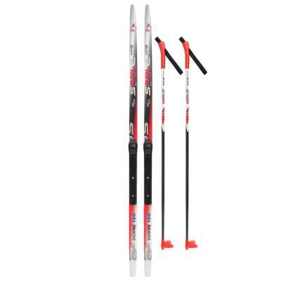 Комплект лыжный БРЕНД ЦСТ (150/110 (+/-5 см), крепление: NNN цвета Бренд ЦСТ