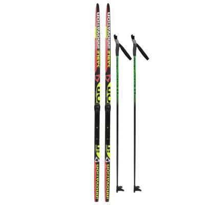 Комплект лыжный БРЕНД ЦСТ 170/130 (+/-5 см), крепление NNN, цвет Бренд ЦСТ