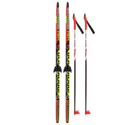 Комплект лыжный БРЕНД ЦСТ (150/110 (+/-5 см), крепление: 0075мм) Бренд ЦСТ