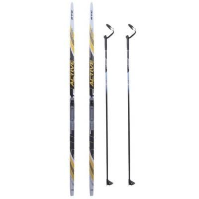 Комплект лыжный БРЕНД ЦСТ (Step, 185/145 (+/-5 см), крепление: NNN), цвета Бренд ЦСТ