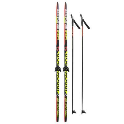 Комплект лыжный БРЕНД ЦСТ 185/145 (+/-5 см), крепление 0075 мм, цвет Бренд ЦСТ