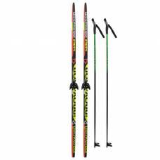 Комплект лыжный БРЕНД ЦСТ (180/140 (+/-5 см), крепление: 0075мм) цвета Бренд ЦСТ