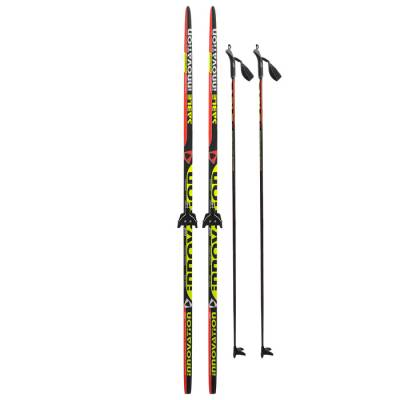 Комплект лыжный БРЕНД ЦСТ 200/160 (+/-5 см), крепление 0075 мм Бренд ЦСТ