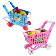 Тележка для покупок Shopping Cart с продуктами (свет, звук) Shantou