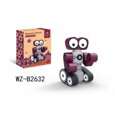 Конструктор магнитный. Робот Junfa Toys