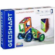 Магнитный 3D-конструктор Geosmart - Луноход, 30 деталей Bondibon